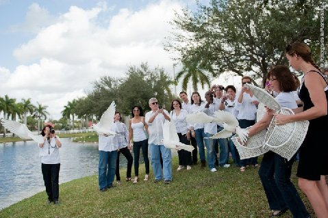 dove release Hollywood Florida